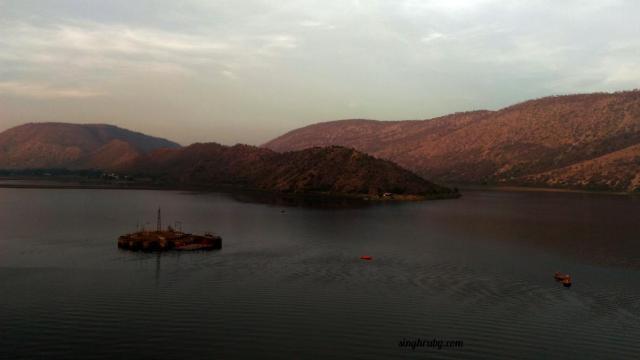 Sariska Lake with Zenfone Laser 2