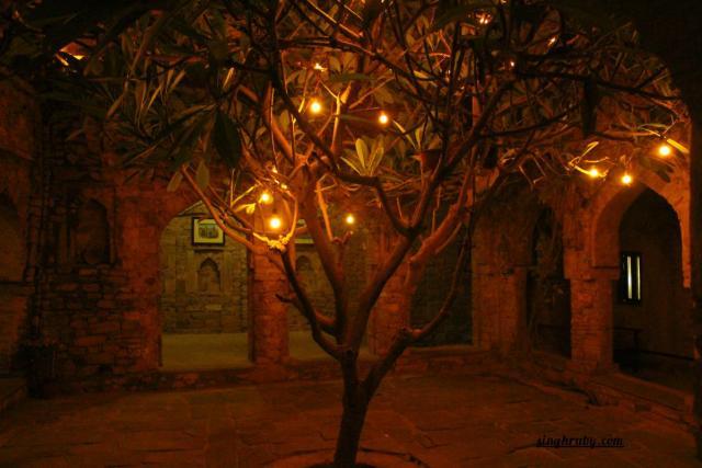 Center hall of Dadhikar Fort
