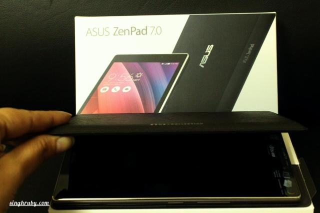 A closer look into the Audio Cover of the Asus ZenPad 7.0