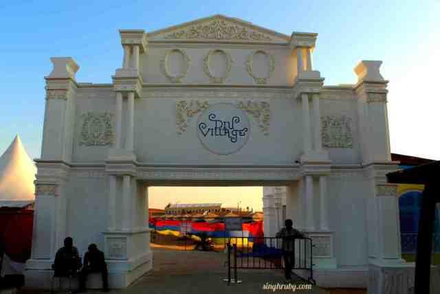 Entrance of Diu Village