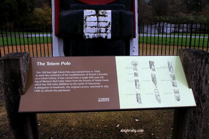 More Info on Totem Pole at Windsor Great Park