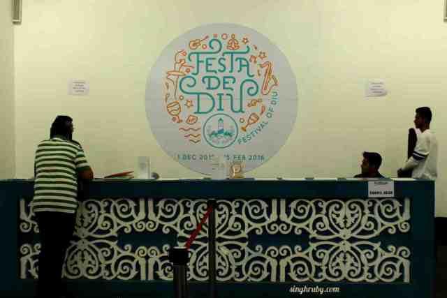 Reception at Festa De Diu