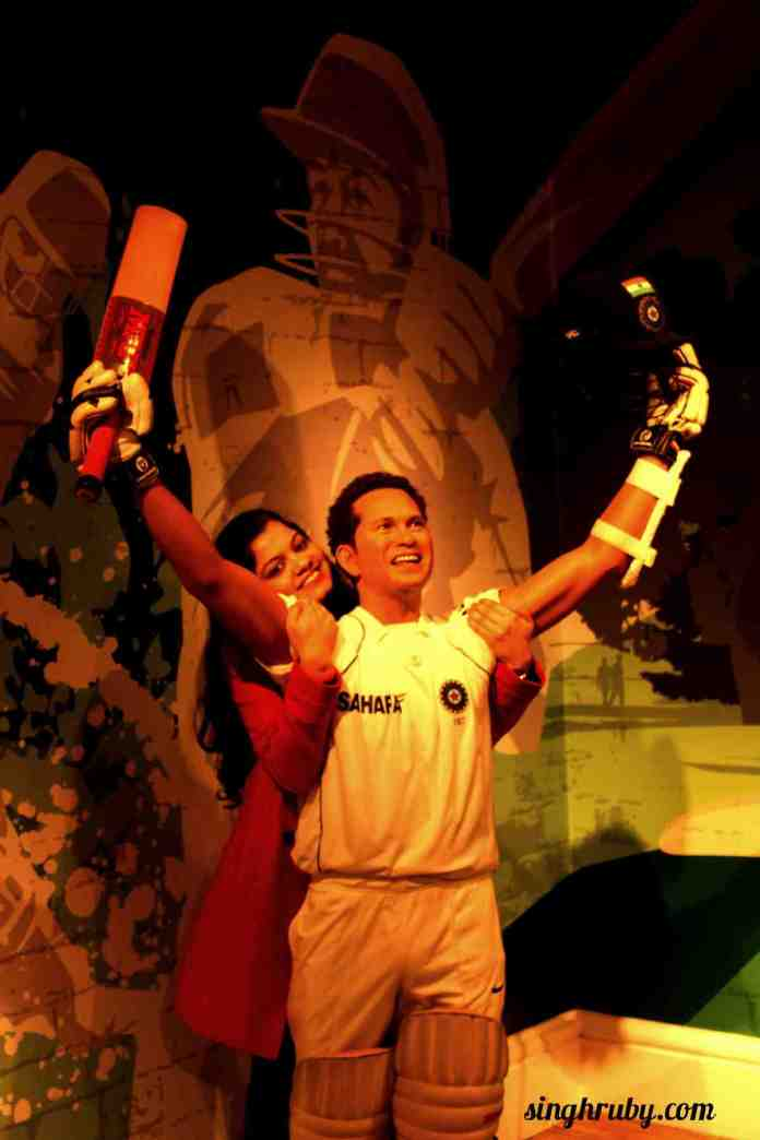 Master Blaster at Madam Tussauds London