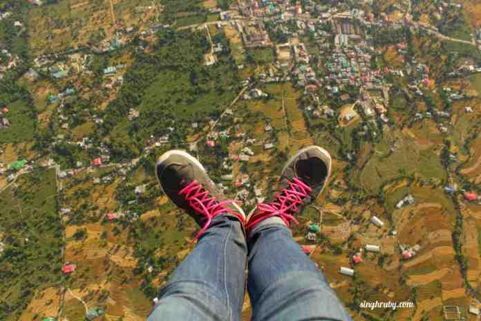 Up in the air at Bir