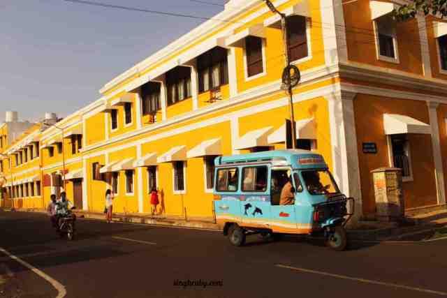 French Colony in Pondicherry
