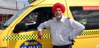Lakhwinder Dhillon honest cabbie
