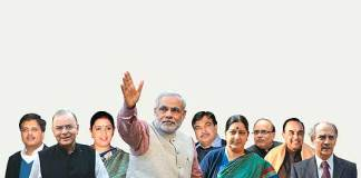 Naredra Modi's Cabinet