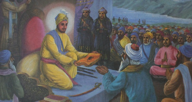 Sacrifice of Pir Budhu Shah