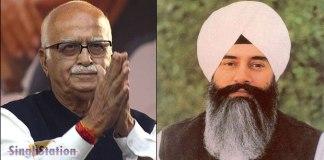 advani-meets-dera-beas-head-gurinder-dhillon