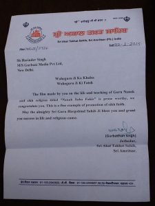 jathedar-appreciation-letter-nanak-shah-fakir