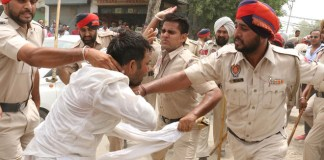 teachers protest bathinda