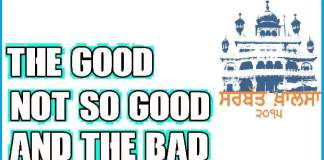 sarbat khalsa good vs bad