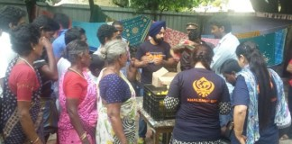 Khalsa Aid Chennai Floods