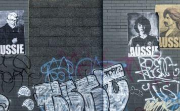 Rolf Harris and Jake Bilardi Aussie posters