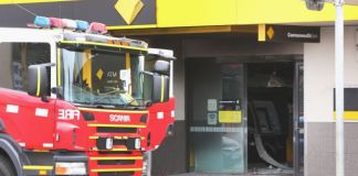 Springvale Commonwealth Bank fire
