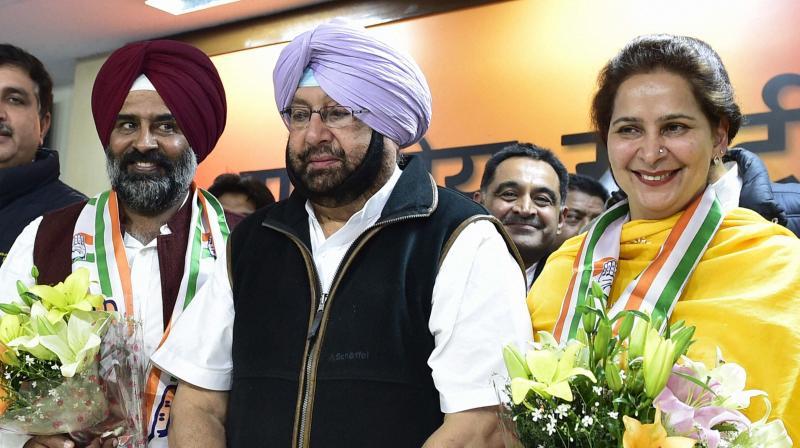Navjot Singh Sidhu's Wife, Ex-Olympian Pargat Join Congress