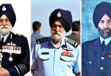 Airforce marshal arjan singh