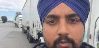 punjabi truck driver Parminder Singh Rinku Sangrur