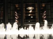 View onto Metropolitan Opera, NYC