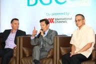 Mr. Chris Robb of Spectrum Worldwide, Mr. Wilfred Steven Uytengsu, Jr. of Sunrise Events, Inc. and Fort Bonifacio Development Corporation's Head of Commercial Operations Manny Blas II.
