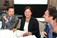 Mr. Wilfred Steven Uytengsu, Jr. of Sunrise Evenets, Inc., Ms. Corazon Jimenez, MMDA General Manager.