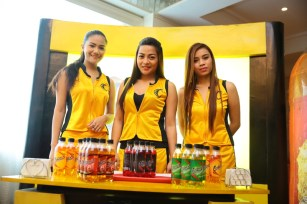Cobra Energy Drink ladies.
