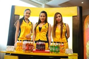 Cobra Energy Drink ladies.