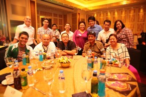 The bloggers with Ms. Princess Galura of Sunrise Events, Inc.