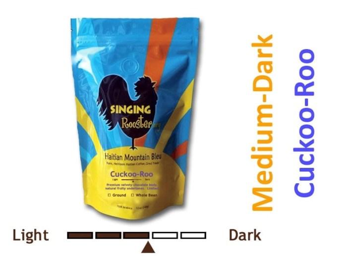 Cuckoo Roo, Premium Haitian coffee