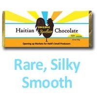Haitian Chocolate (and raw cacao for #beantobar)