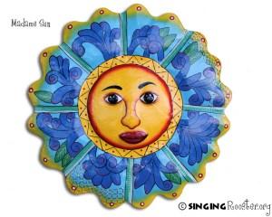 Madame sun Metal Wall Art