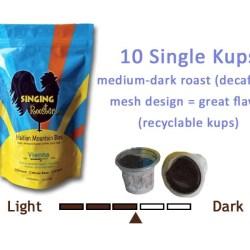 K kups, Haitian coffee