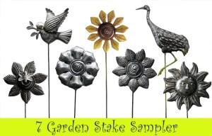 buy Metal garden stakes online