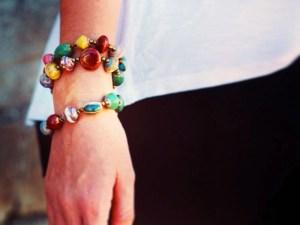 Fair trade jewelry, bracelets Haiti