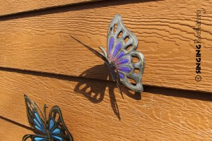 buy butter fly garden art online
