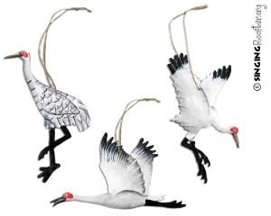 shop christmas crane ornaments online