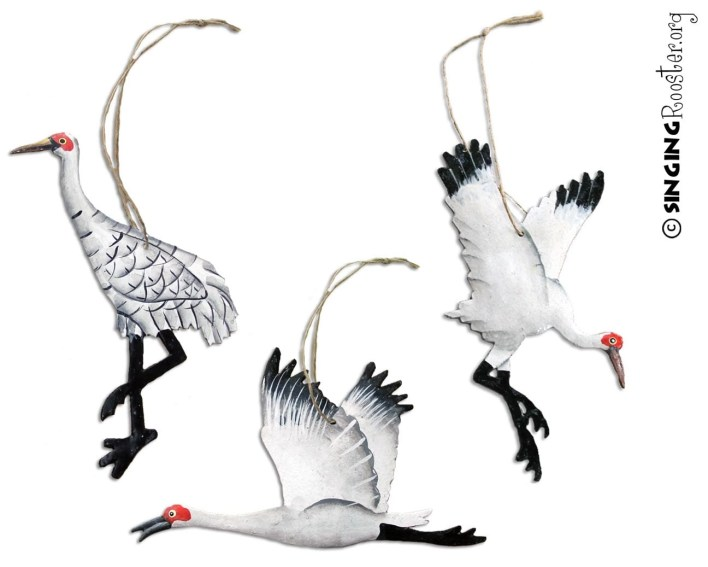 shop christmas crane ornaments online