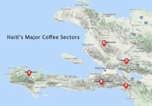 Haiti's coffee sectors