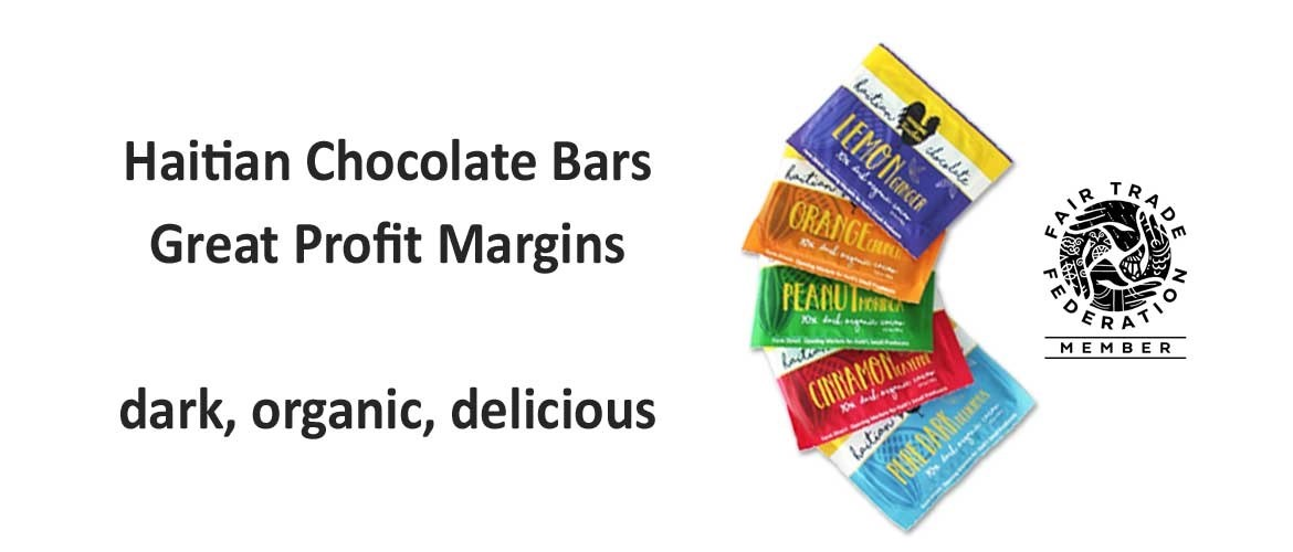 raise funds with Haitian chocolate