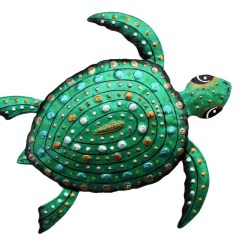 save green turtle art