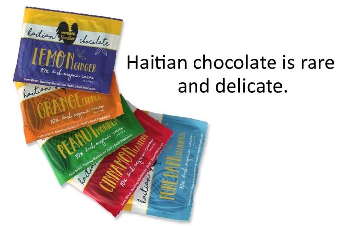 wholesale discount Haitian chocolate online
