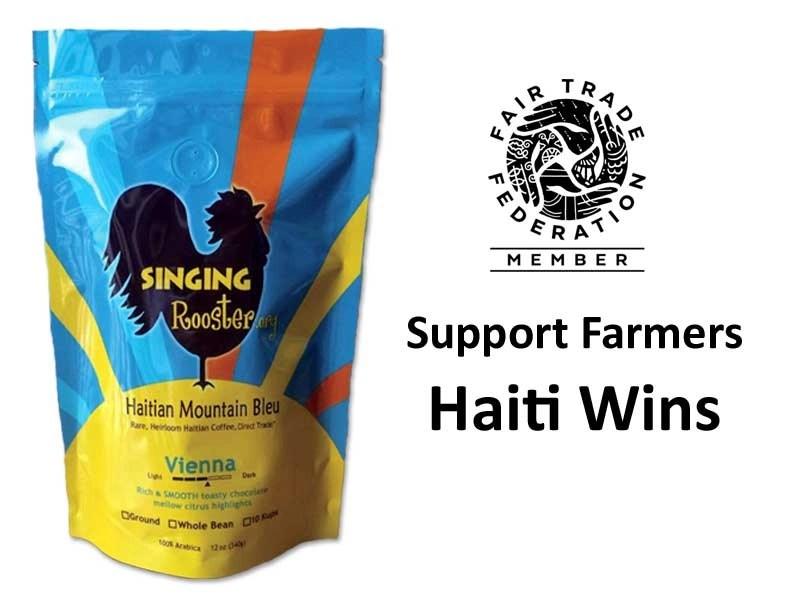 retail wholesale fundraise haitian coffee chocolate art