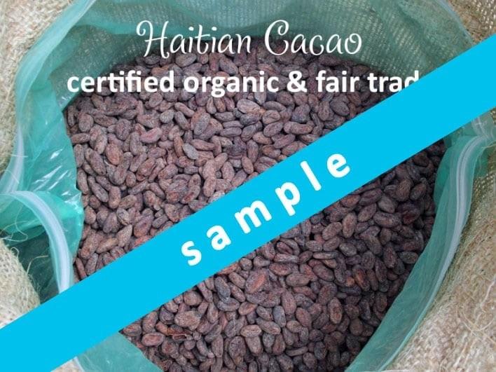 haitian cacao sample