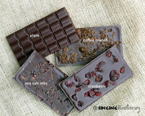 haitian chocolate bars rooster