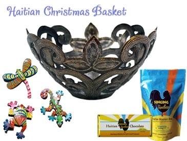 haitian metal basket sm