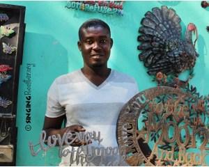 Jr. Branchedor, Haitian artist