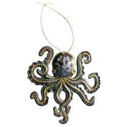 small octopus gift ornament