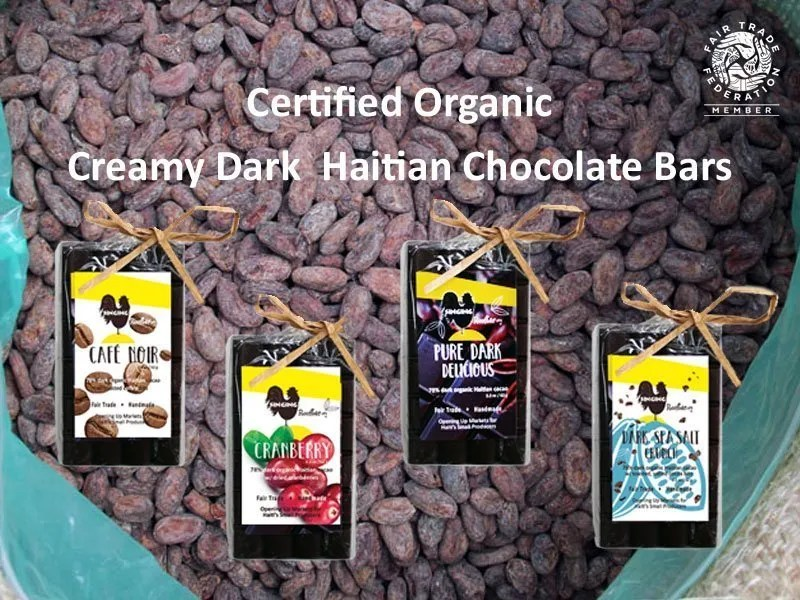 Find Organic Haitian chocolate online