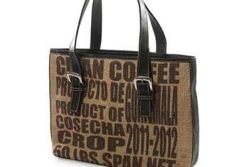 recycled coffee bags