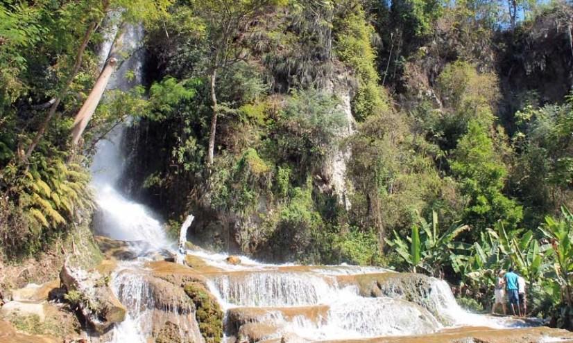 saut eau waterfall haiti